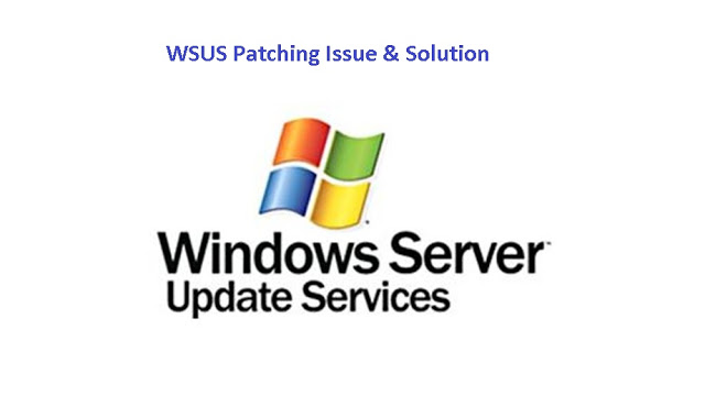 Windows_wsus_patching issue