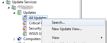 wsus update Search