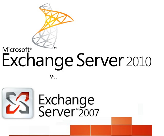 Differences between Exchange server 2007 and 2010
