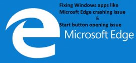 Solve_Micrsoft_Edge_crashing_issue
